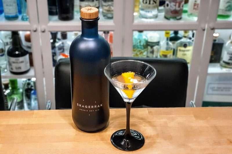 Dry Martini med Skagerrak Gin