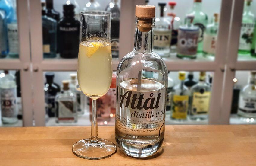 French 75 med Attåt Distilled Gin