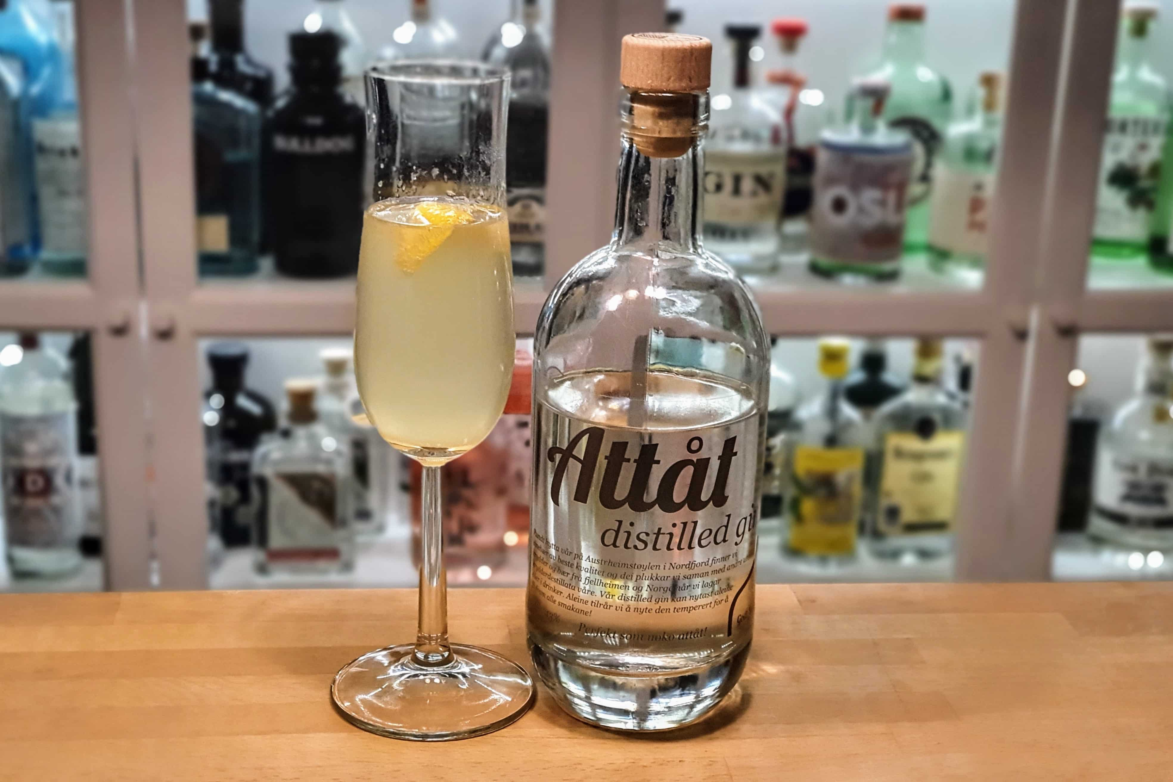 French 75 med Attåt Distilled Gin