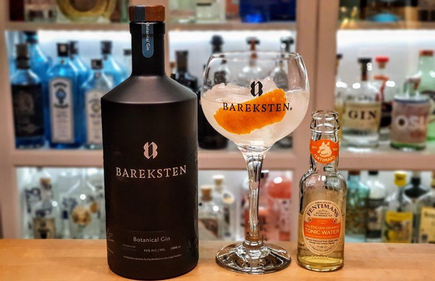 Gin Tonic med Bareksten Botanical Gin