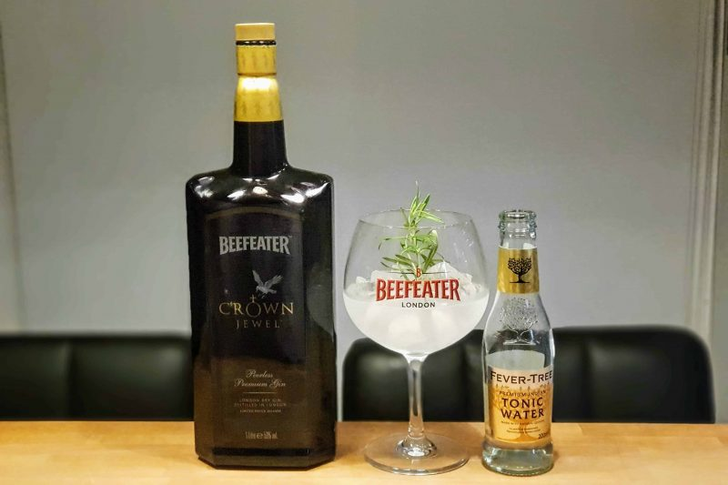 Gin Tonic med Beefeater Crown Jewel Gin
