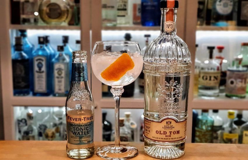 Gin Tonic med City of London Old Tom Gin