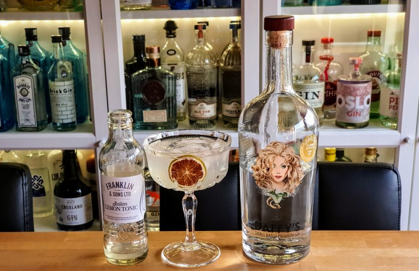 Gin - Tonic med Daffys Gin