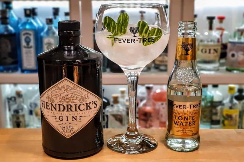 Gin Tonic med Hendricks Gin