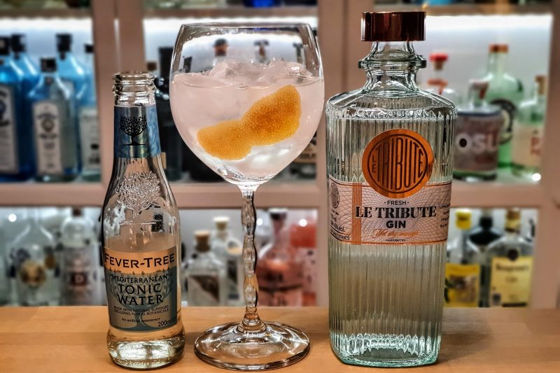 Gin Tonic med Le Tribute Gin