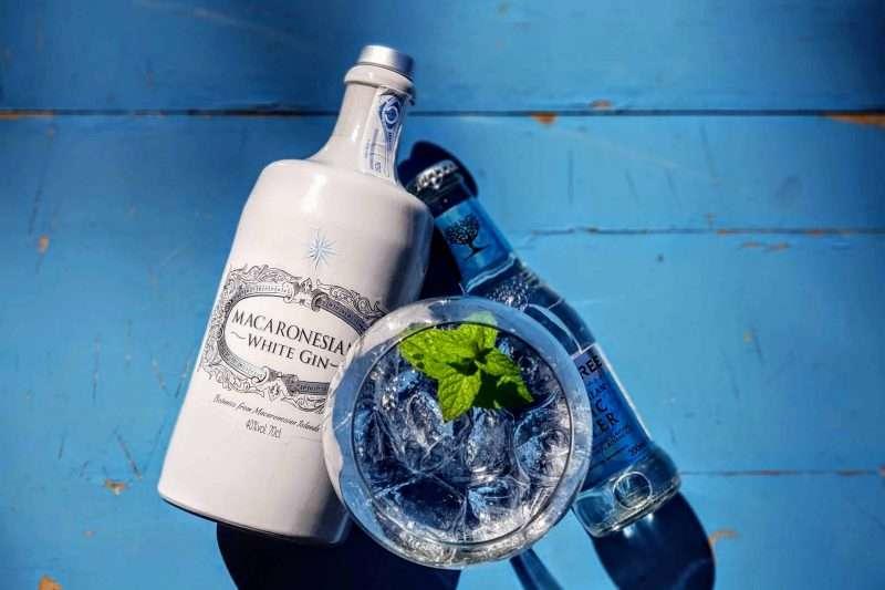 Gin-Tonic med Macaronesian White Gin