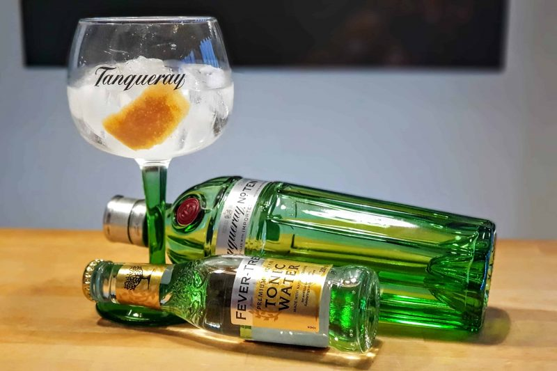 Gin-Tonic med Tanqueray Ten