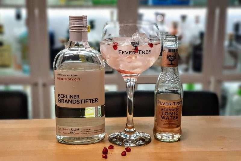 Gin og Tonic med Berliner Brandstifter Gin