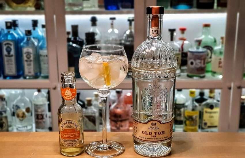 Gin og Tonic med City of London Old Tom Gin