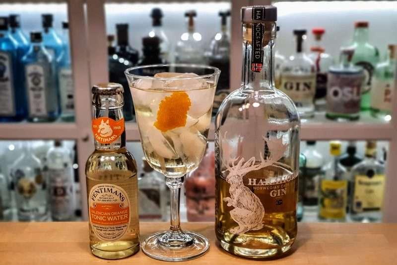 Gin og Tonic med Harahorn fatlagret