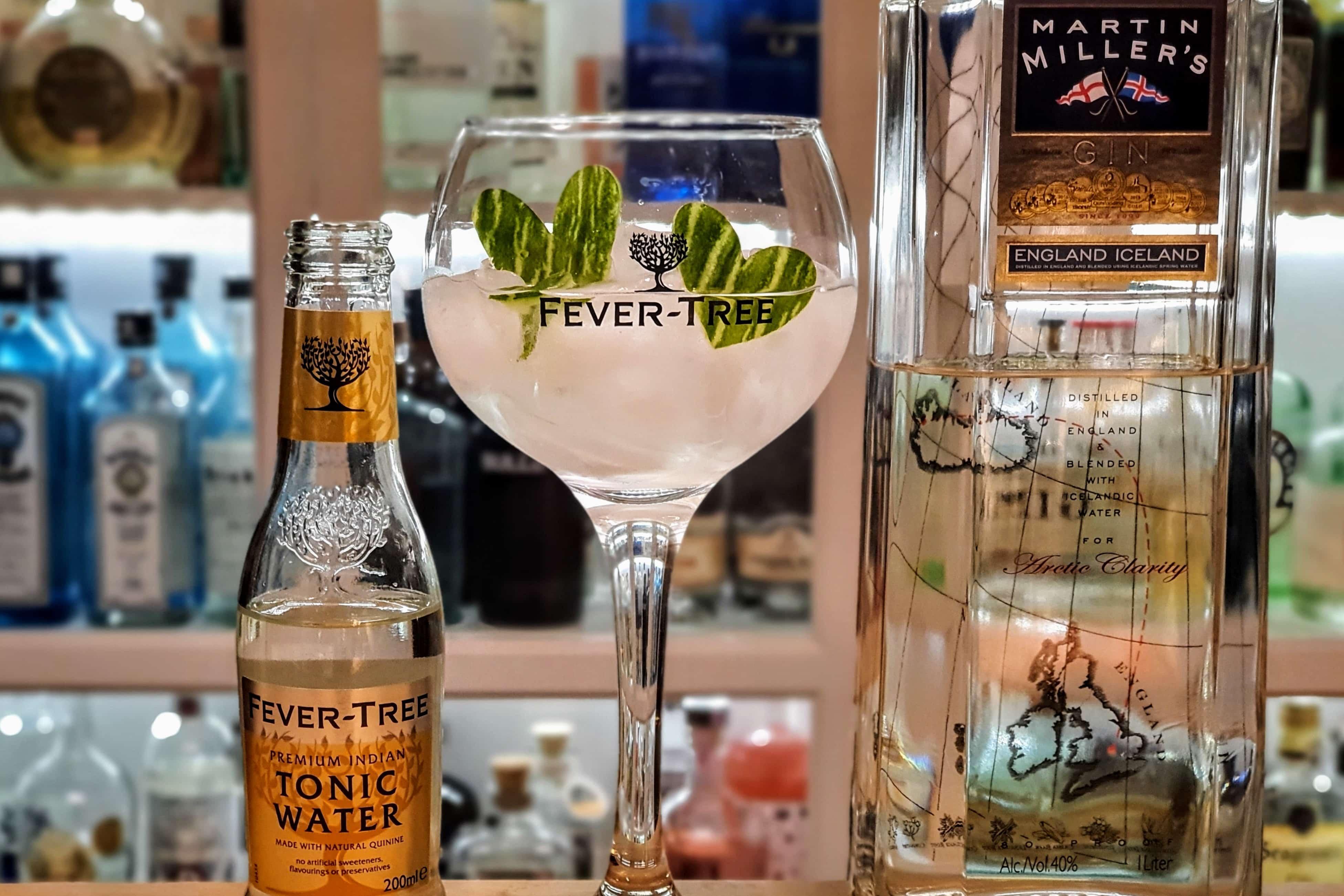Gin og Tonic med Martin Millers Gin