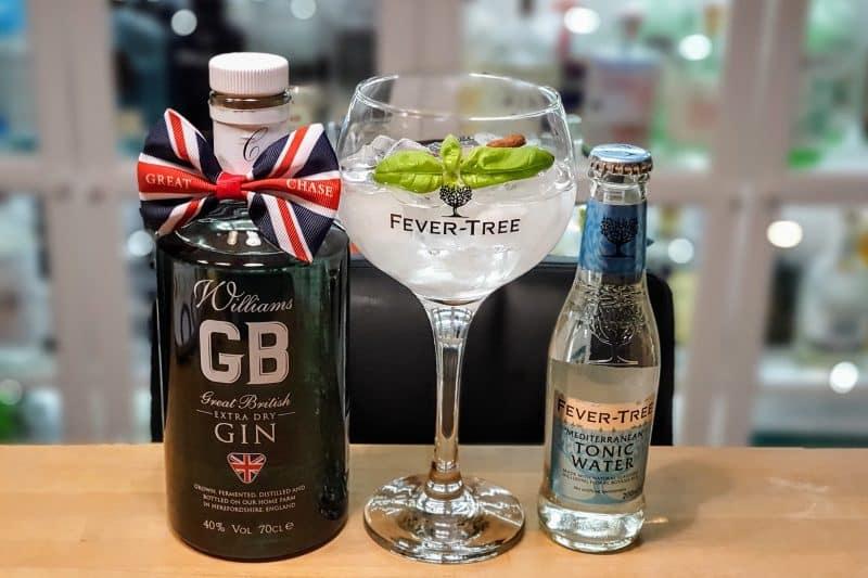 Gin og Tonic med Williams Chase GB Dry Gin