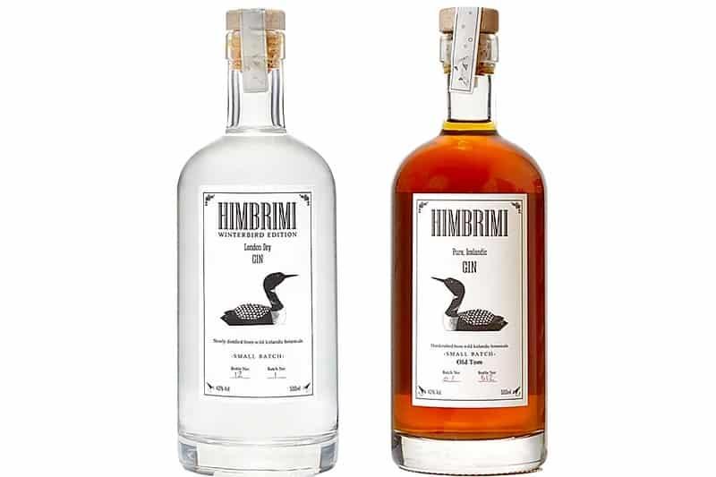 Himbrimi Gin og Old Tom Gin