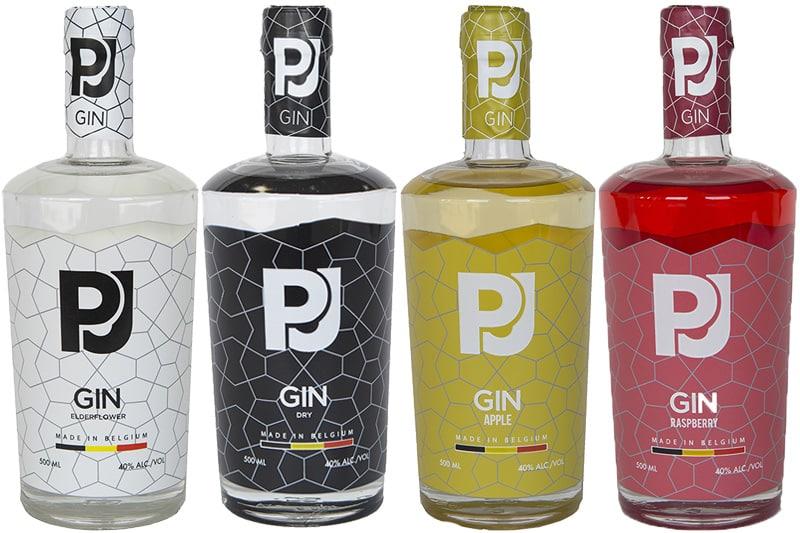 PJ-Gin, Elderflower, Dry, Apple, Raspberry