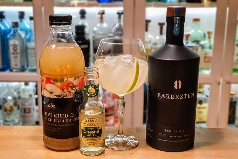 Bareksten Gin med ginger ale. Mest populære oppskrifter 2020