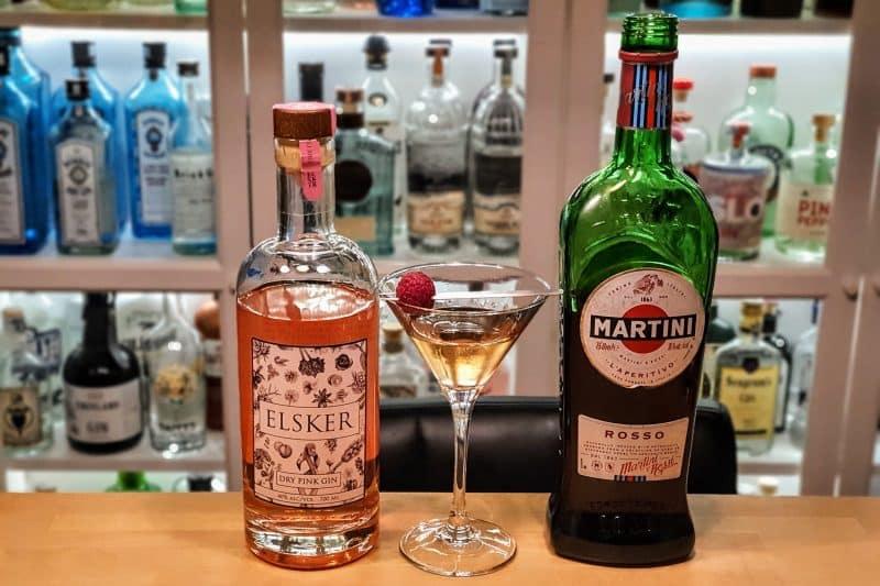 Dry Martini med Elsker Dry Pink Gin