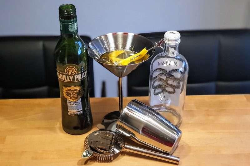 Dry Martini med Himkok Gin