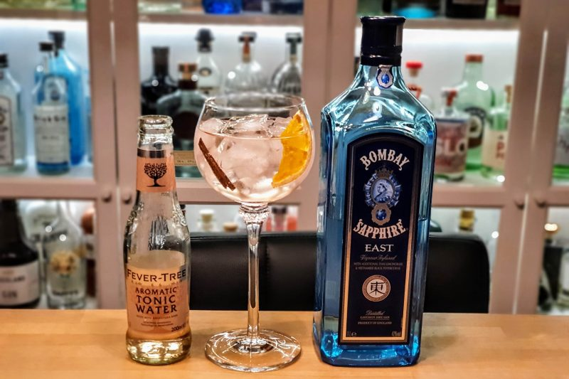 GT med Bombay Sapphire East London Dry Gin