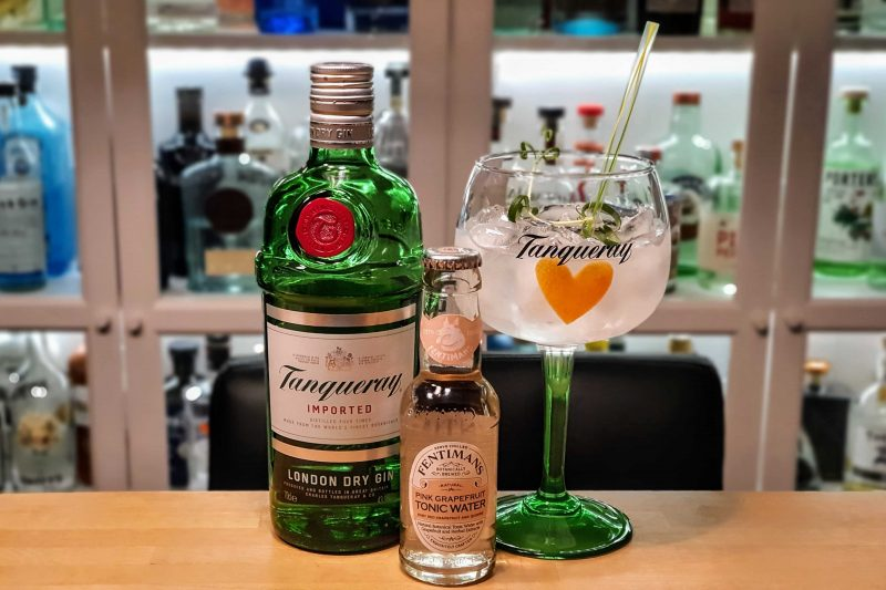G&T med Tanqueray London Dry Gin