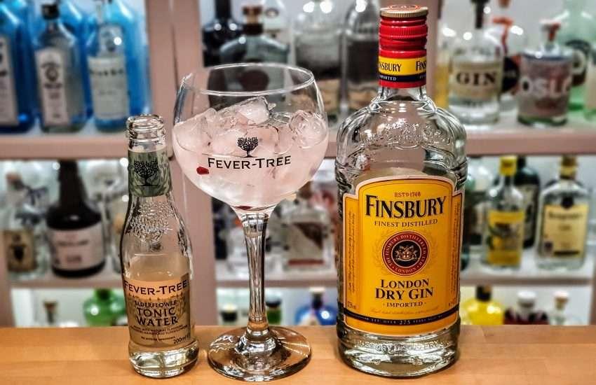 Gin Tonic med Finsbury Gin