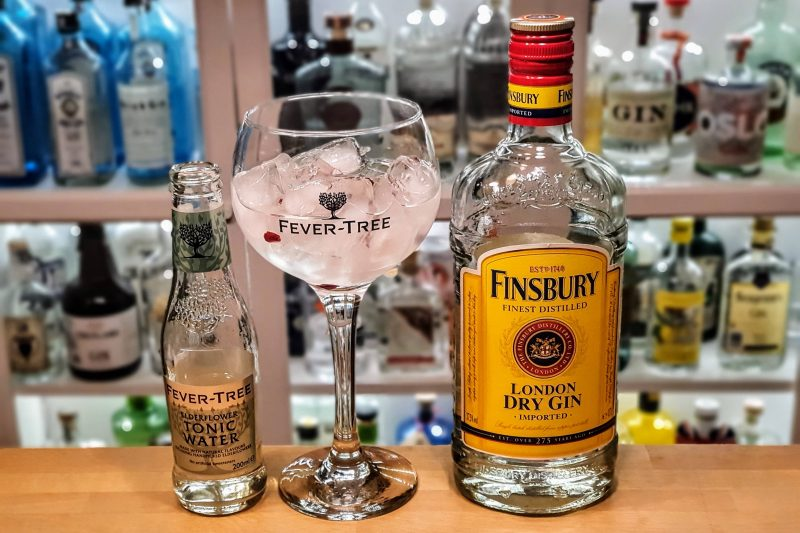 Gin Tonic med Finsbury Gin