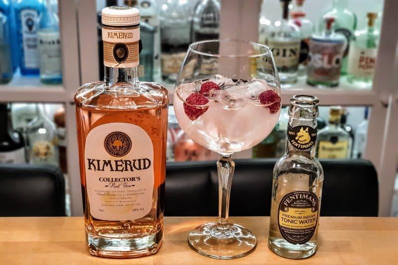 Gin og Tonic med Kimerud Pink Gin