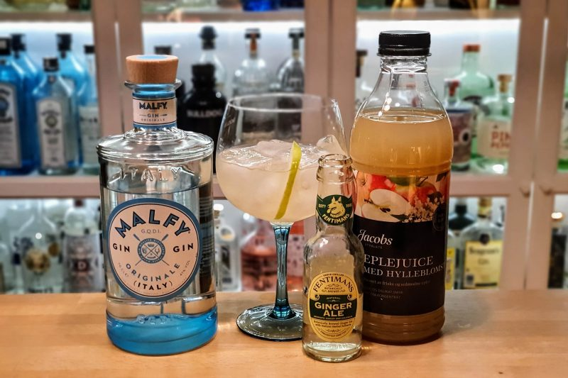 Malfy Originale Gin med ginger ale