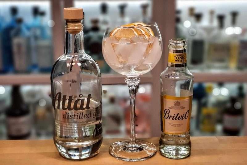 GT med Attåt distilled Gin