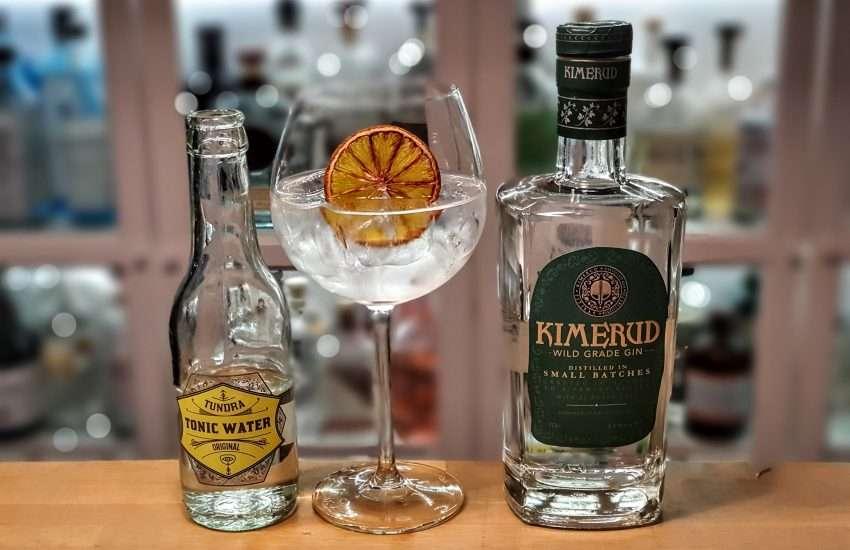 Gin-Tonic med Kimerud Wild Grade Gin