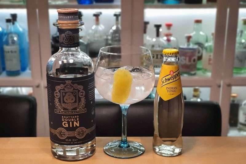Gin og Tonic med Boatyard Double Gin
