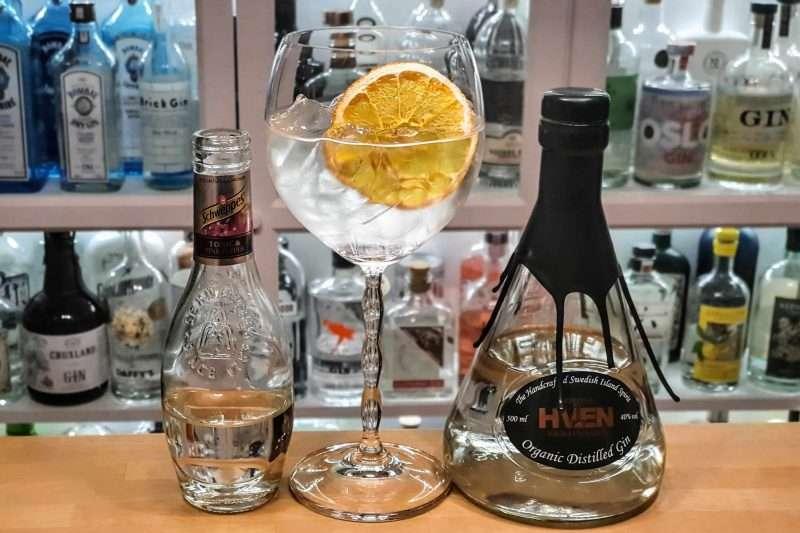 Gin og Tonic med Spirit of Hven Gin