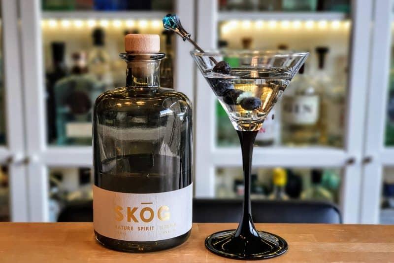 Dry Marini med SKOG Gin Ultra Pure