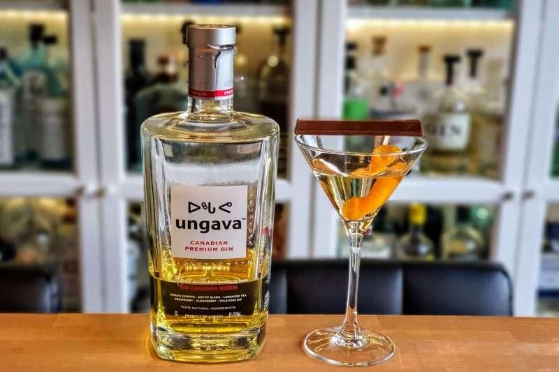Dry Martini med Ungava Gin