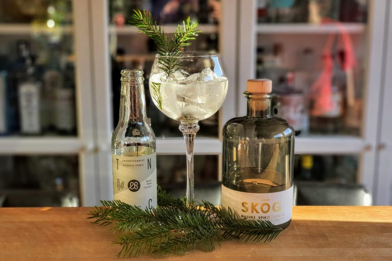 Gin-Tonic med SKOG Gin Ultra Pure
