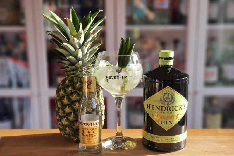 Gin og Tonic med Hendricks Amazonia Gin