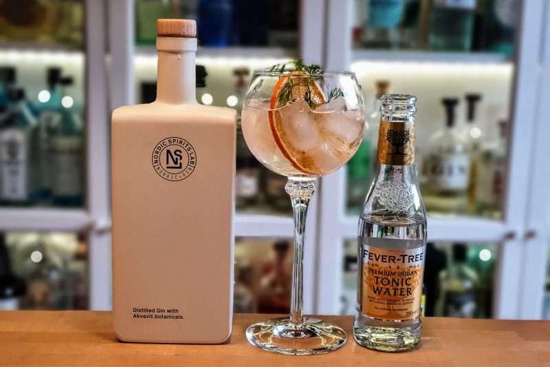 Gin og Tonic med Nordic Spirits Lab Gin