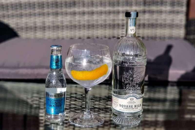 Gin og Tonic med Square Mile Gin
