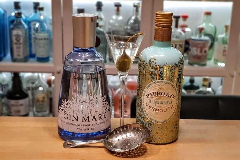 Martini med Gin Mare