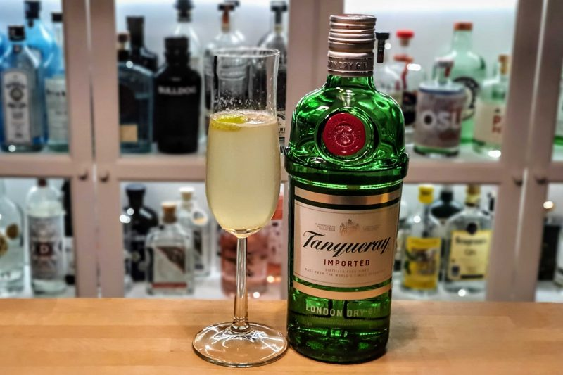 French 75 med Tanqueray London Dry Gin