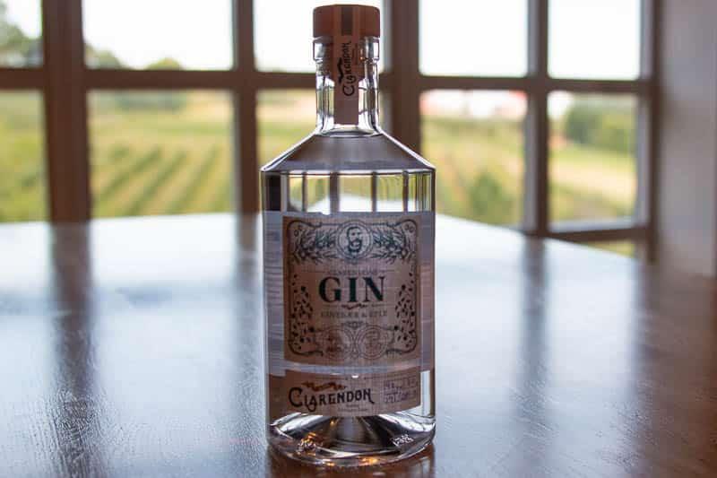 Clarendons Gin eplemost