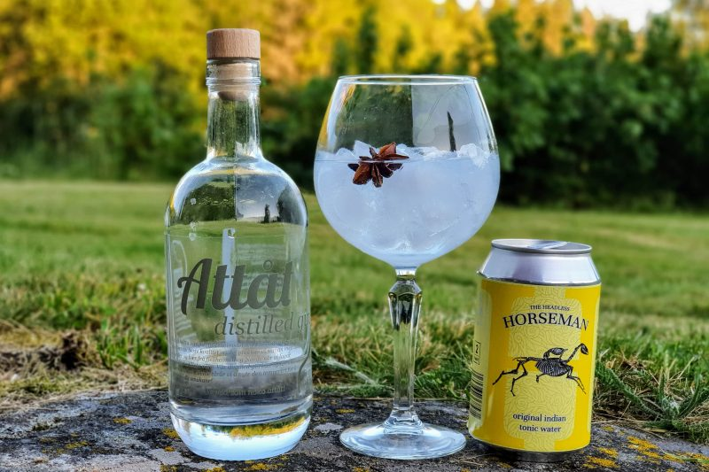 Gin Tonic med Attåt Distilled Gin
