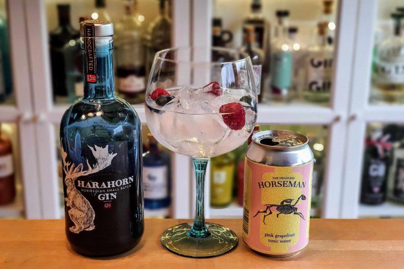 Gin Tonic med Harahorn Gin