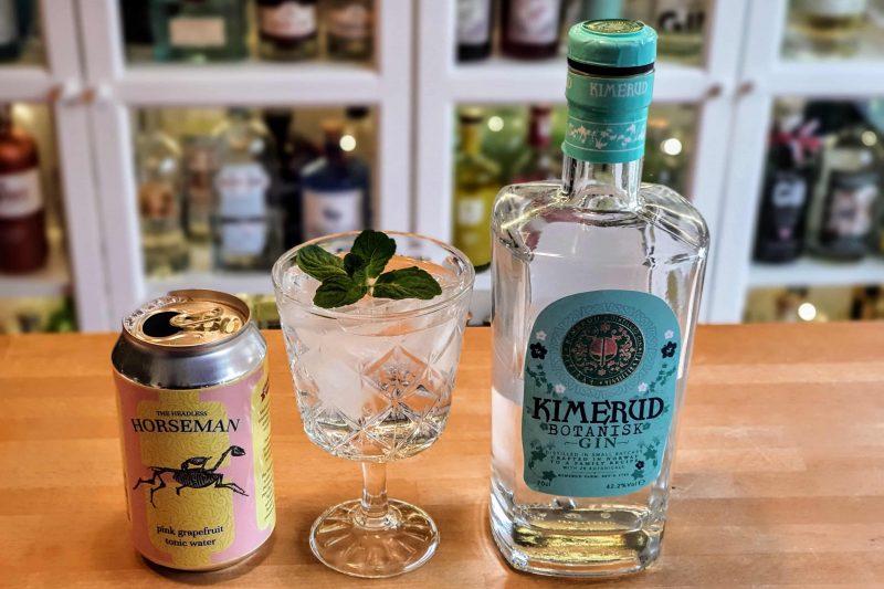 Gin-Tonic med Kimerud Botanisk Gin