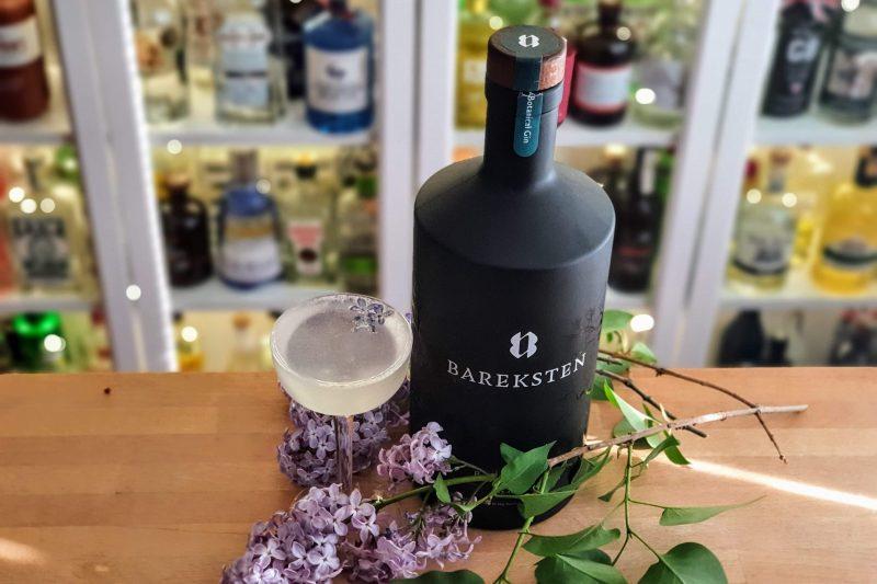 Syrin-drøm cocktail med Bareksten Gin