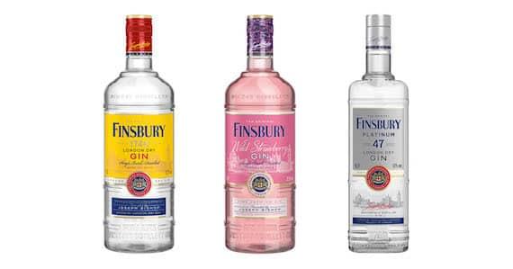 Nyheter finsbury gin