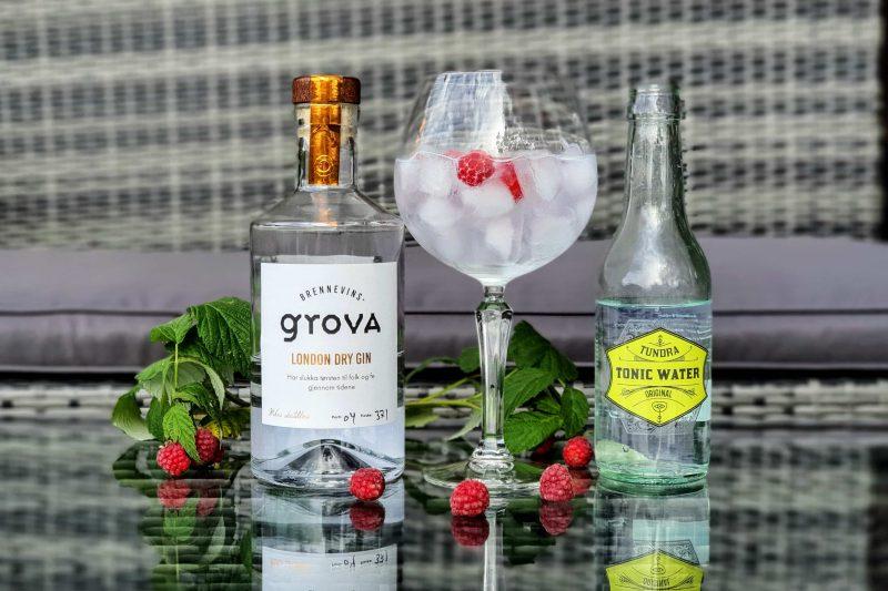 GT med Brennevinsgrova London Dry Gin