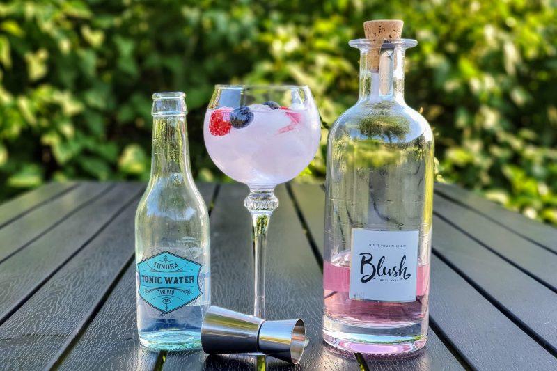 Gin-Tonic med Blush Rosa Gin