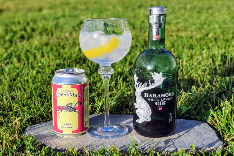 Gin Tonic med Harahorn White Lemon Gin