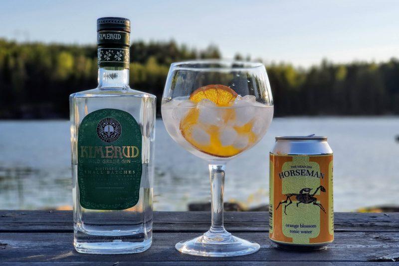 Gin Tonic med Kimerud Wild Grade
