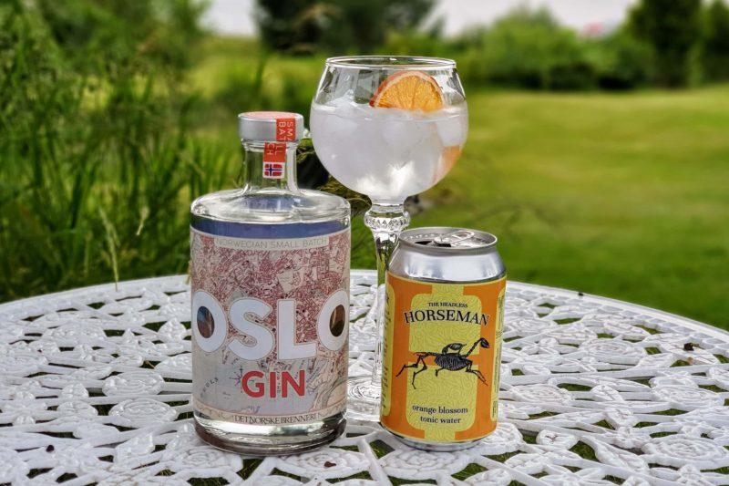 Gin & Tonic med Oslo Gin